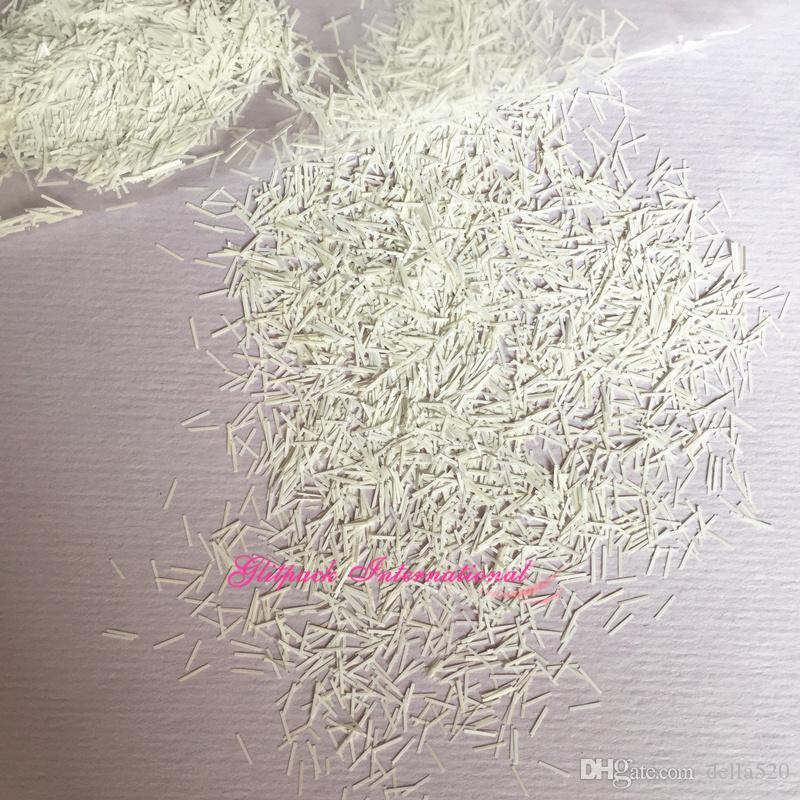 0,2 * 3 mm Kar kabartmak beyaz mikro pulları reçine parıltı mat renk çubuğu glitter tırnak sanat glitter toz Mylar döküntüleri ve pulları pırıltılar 1 kg