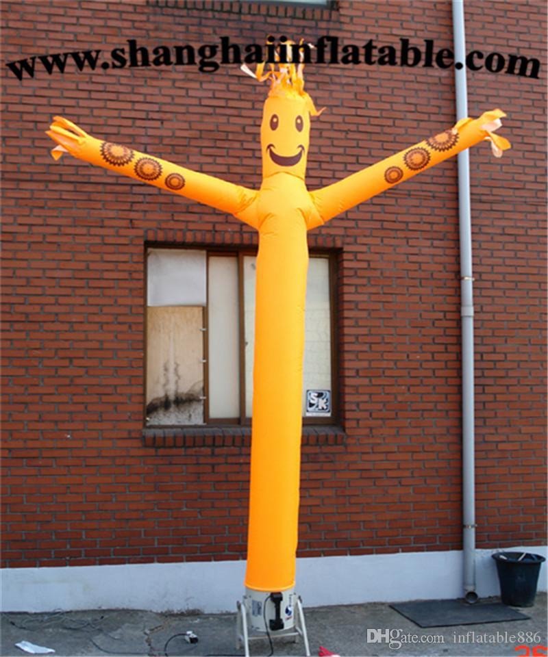 Dançarino inflável do céu do dançarino inflável quente do ar da venda para anunciar