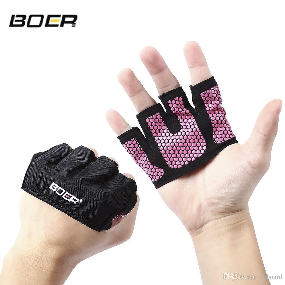 Weight Lifting Grip Gloves Fitness Gym Exercise Training Half Finger Yoga Unisex