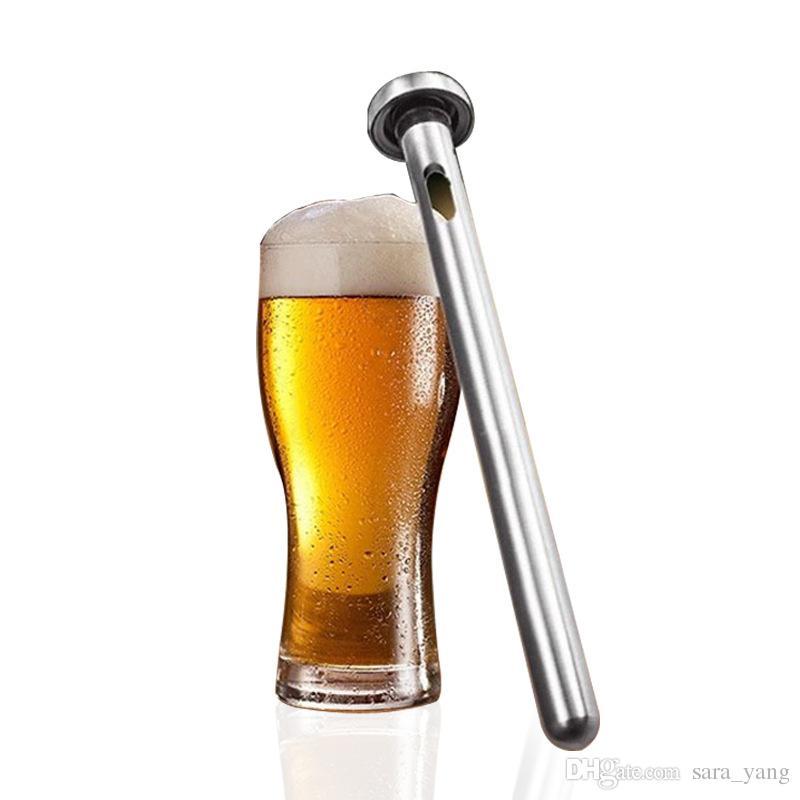 Asta di raffreddamento per refrigeratore di bottiglie di birra per vino rosso in acciaio inossidabile 2 ‑ in ‑ 1 con utensili da cucina
