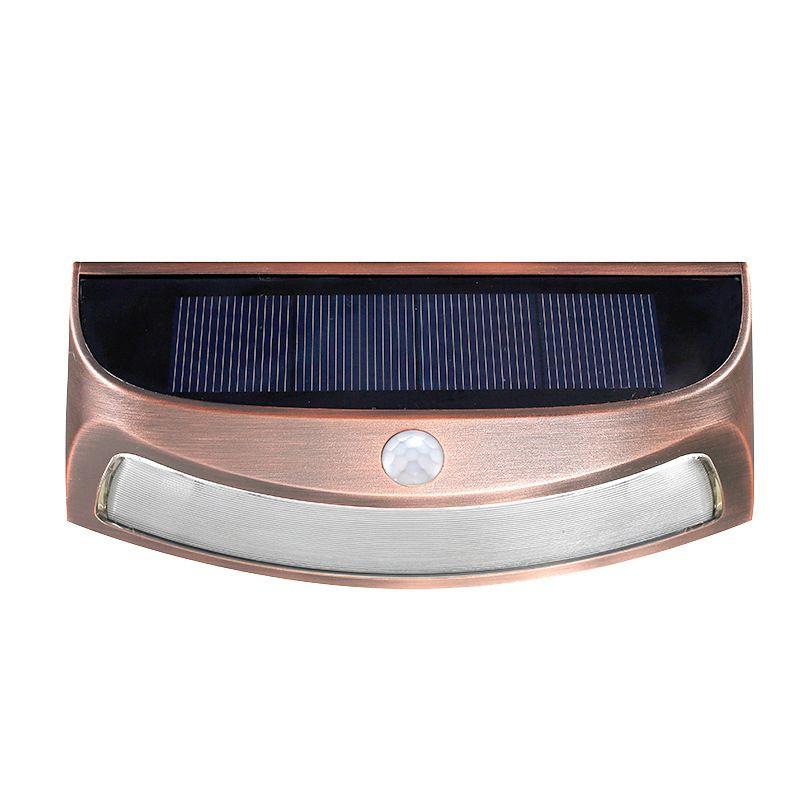 Lámpara solar de pared con luz solar súper brillante para el hogar con luz de sensor solar adecuada para iluminación de exteriores luces de jardín - 2 colores de luz