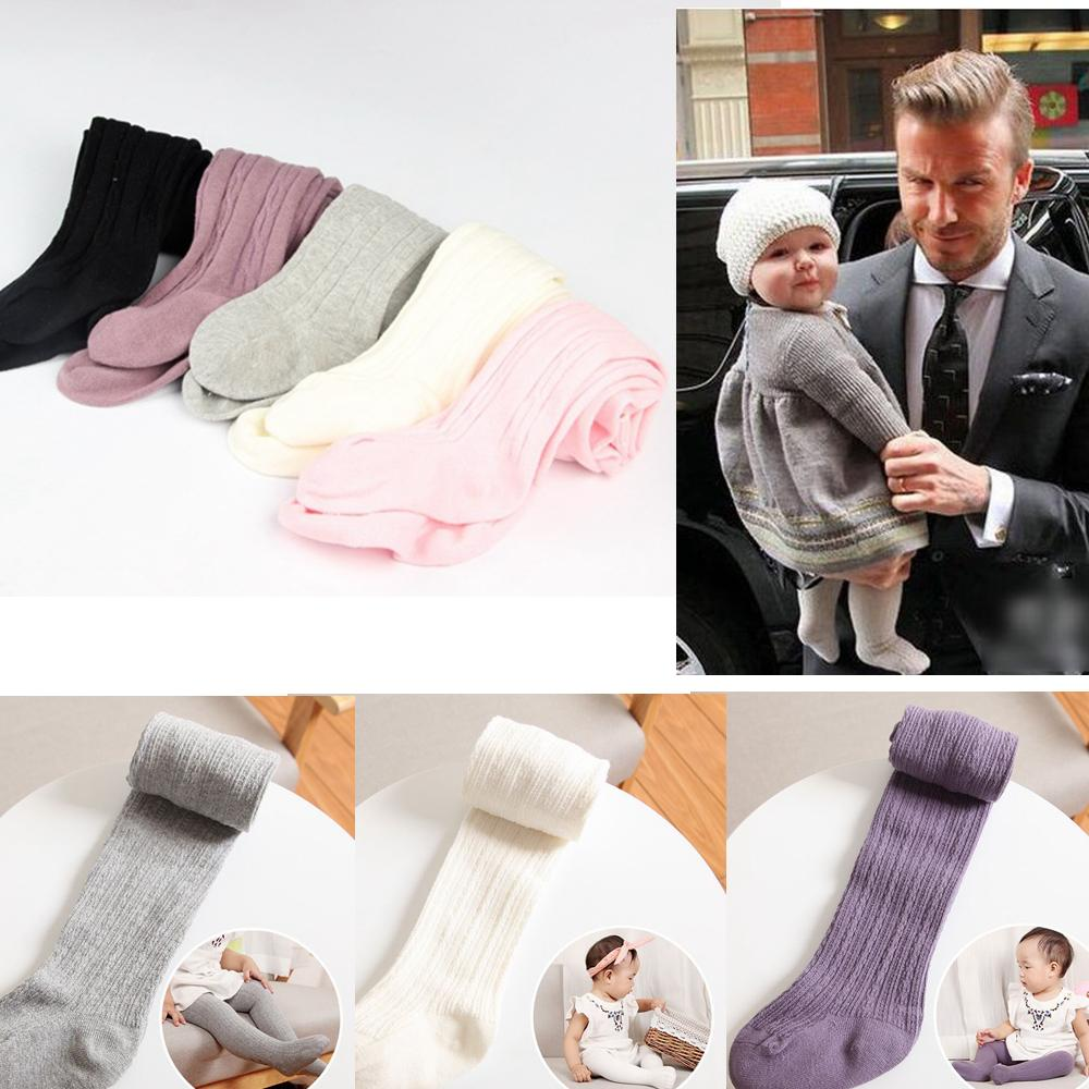 5 Colors Baby Solid Pants Baby Girls Cotton Leggings Spring Autumn Pants Wear Children's Leggings Tights AAA555