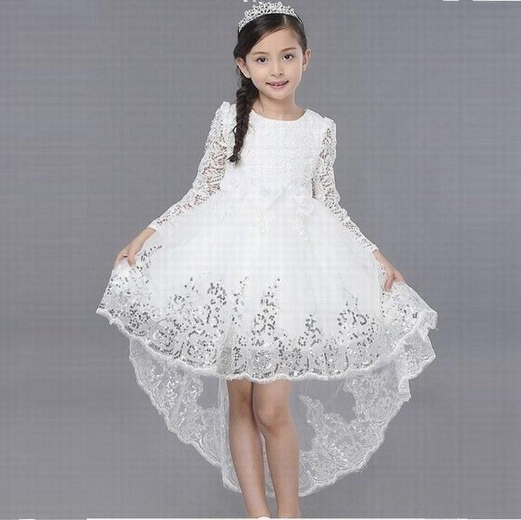 Principessa affascinante Pageant Kids Party Wedding Formal Occasion Children Dress Prom Gown GHST88