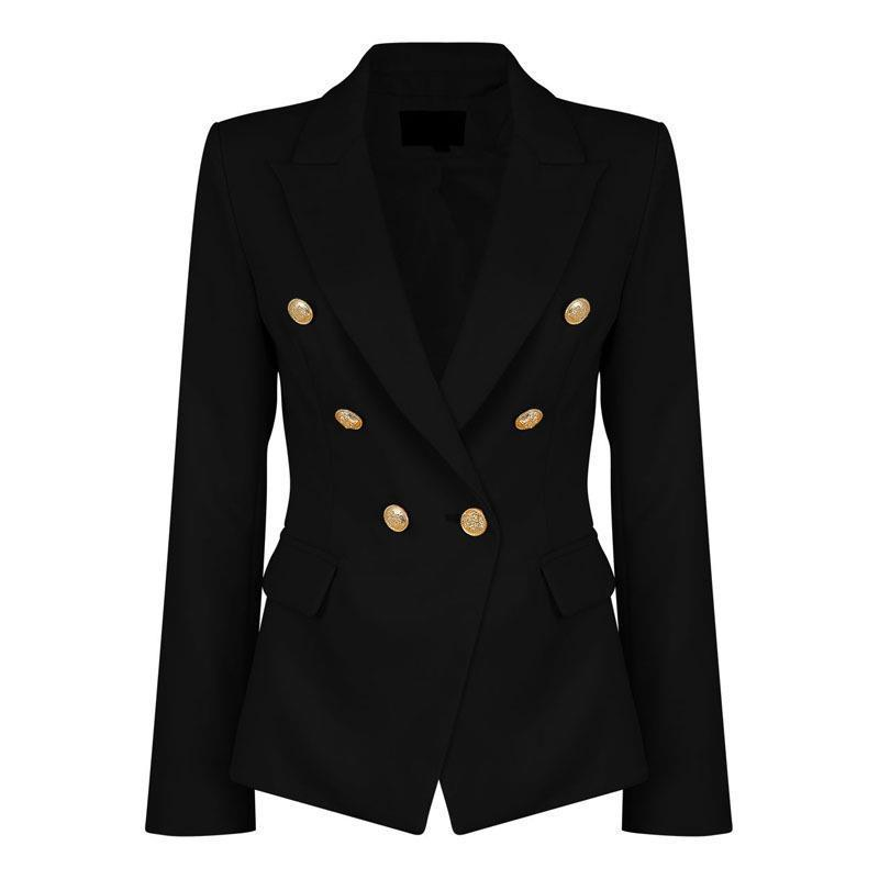 Blazer da donna Blazer feminino da donna corto corto bianco Giacche da donna manica lunga da lavoro WS2509C L18101302