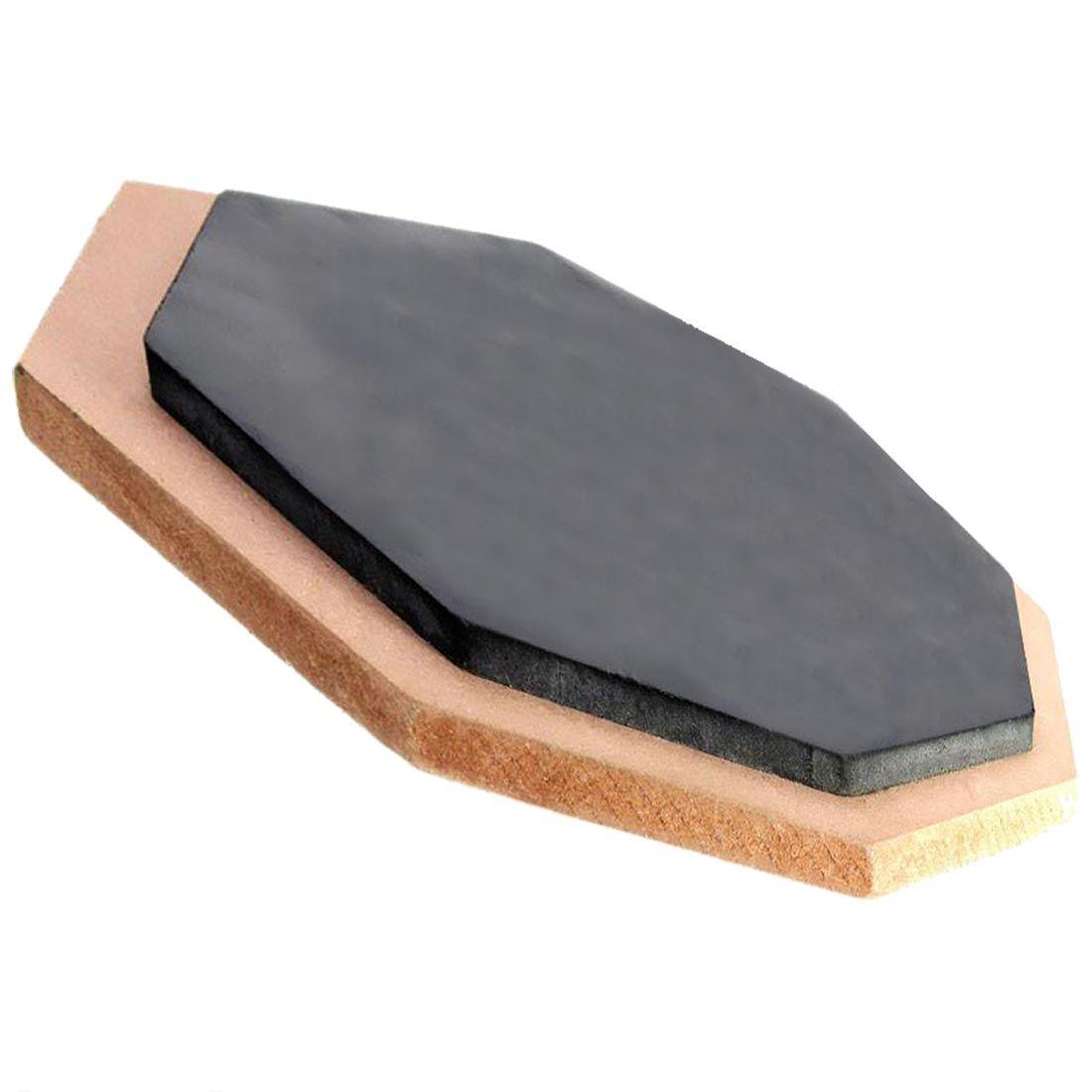 Tapis d'exercice pour tapis de batterie dumb Blow Plate batteur caoutchouc double face souple 6 pouces
