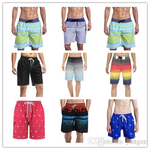 50pcs heiße Männer Board Shorts Surf Badehosen Bademode mit Mix Farben Mix Größe Twin Micro Fibre Boardshorts Beachwear Bulk