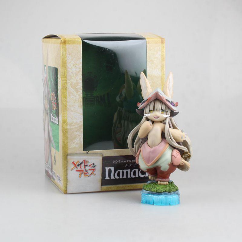 Modelo de animação brinquedos em torno de Made in Abyss do abismo Nana estranho besta mãe caixa alça