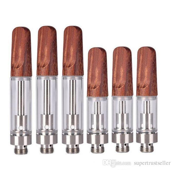 TH205 Dabwoods legno ceramica Coil Vape cartucce vuote Serbatoi vaporizzatore Legno Consigli Dab Woods atomizzatori 510 Discussione vapes Penne TH210
