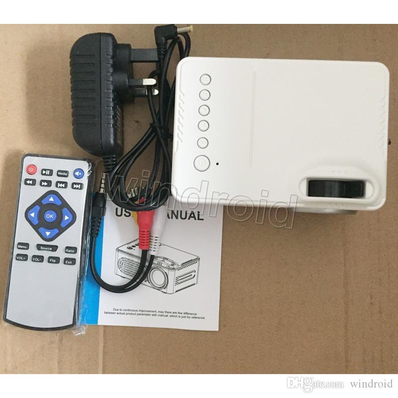 미니 프로젝터 RD814 LCD LED 휴대용 포켓 프로젝터 RD-814 홈 시어터 시네마 멀티미디어 지원 USB 키즈 아이 비디오 미디어 플레이어