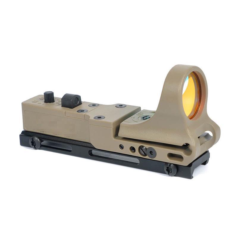 Taktische C-Mehr-Eisenbahn-Reflex-Sicht CMore Red Dot-Gewehr-Pistolen-Umfang mit integrierter 20-mm-Picatinny-Halterung