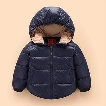 9b26e7d94a03b Enfants manteau filles garçons doudoune 18 mois - 5 ans mois hoodies chauds  manteau d