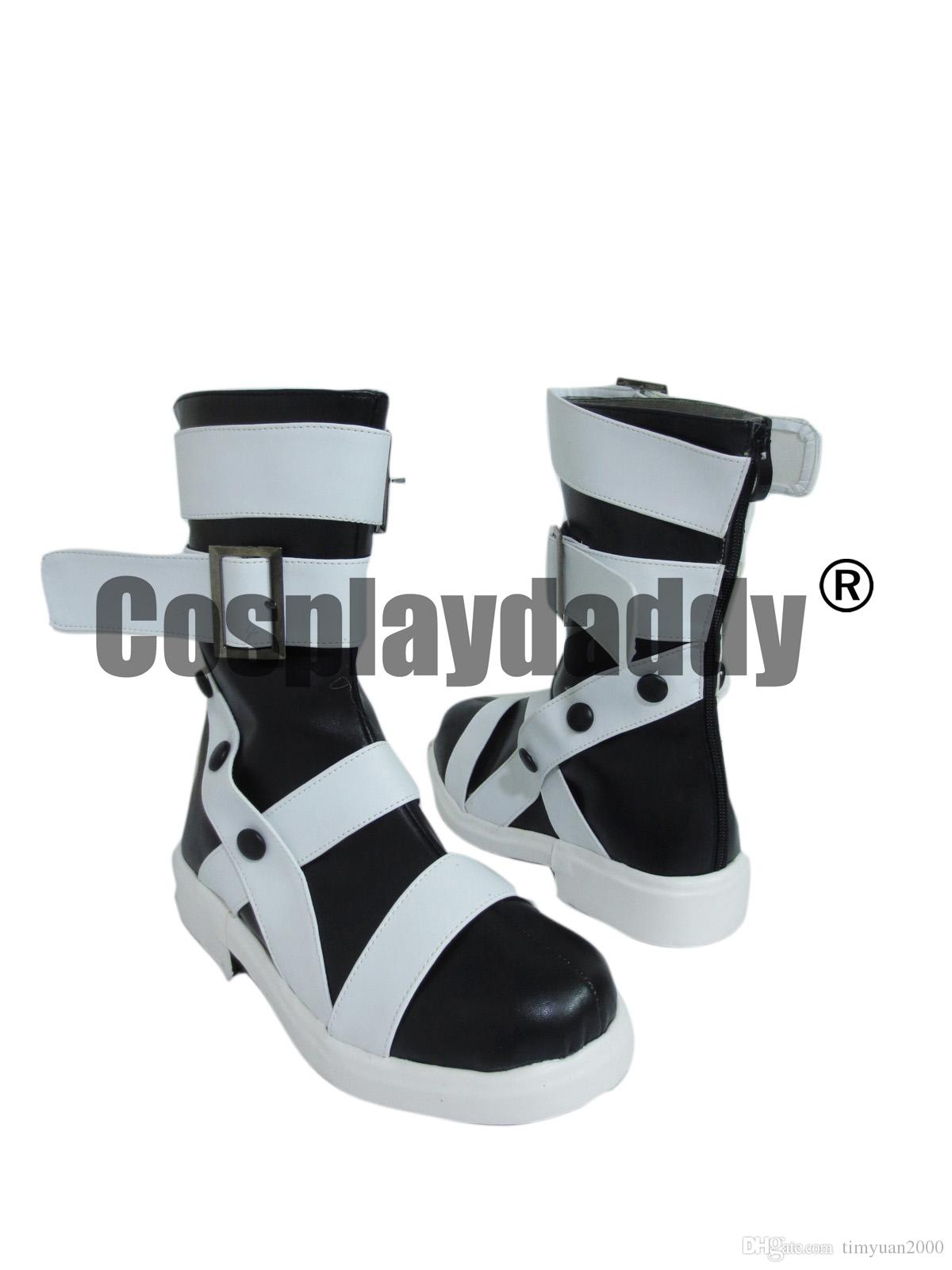 Soul Eater Maka Albarn Cosplay Costume Boots Boot Shoes Shoe UK