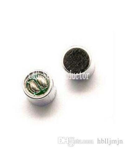 10 unids 6 * 5 mm MIC cápsula Electret Condensador Micrófono de recogida 52DB