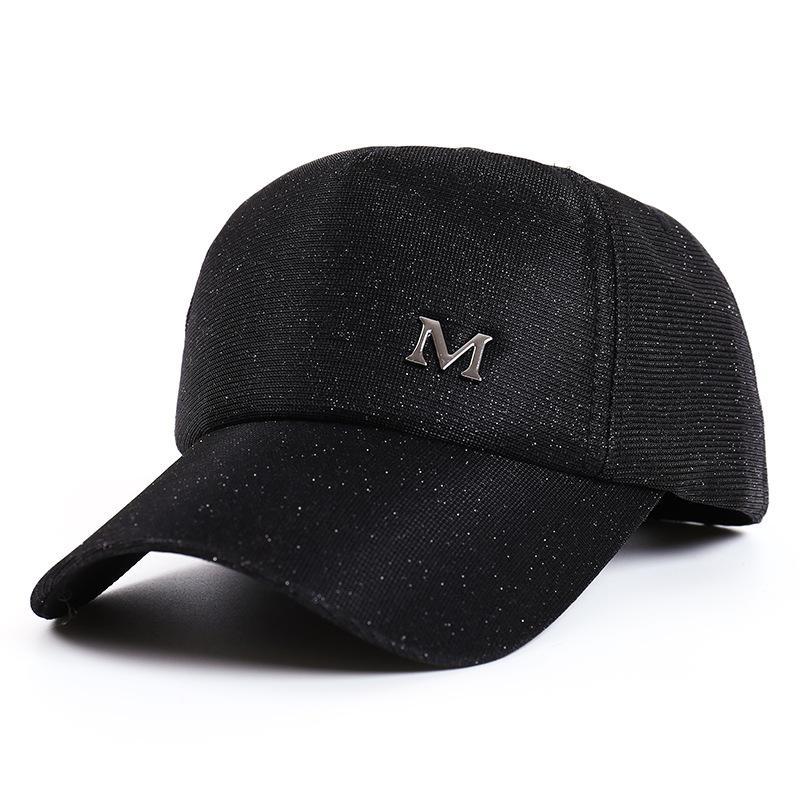 Glitter At Kuyruğu Beyzbol Şapkası Renk Değişikliği Şapka Kadın Dağınık Topuz Beyzbol Şapka Yaz Açık Renk Değişikliği Snapback Rahat Ayarlanabilir Caps