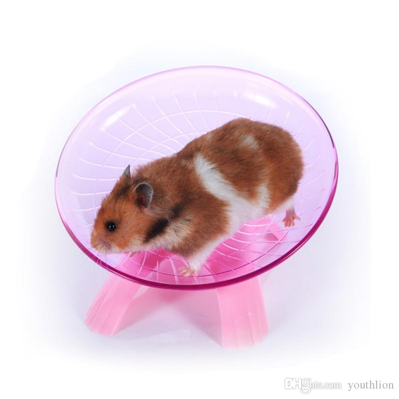 Mouse Hamster Wheel Flying Saucer Exercise Wheel For Small Pets 18 Cm High Quality Funny Hamsters Running Disc Plastics Comfort Pet Toys Canada 2020 From Youthlion Cad 9 85 Dhgate Canada