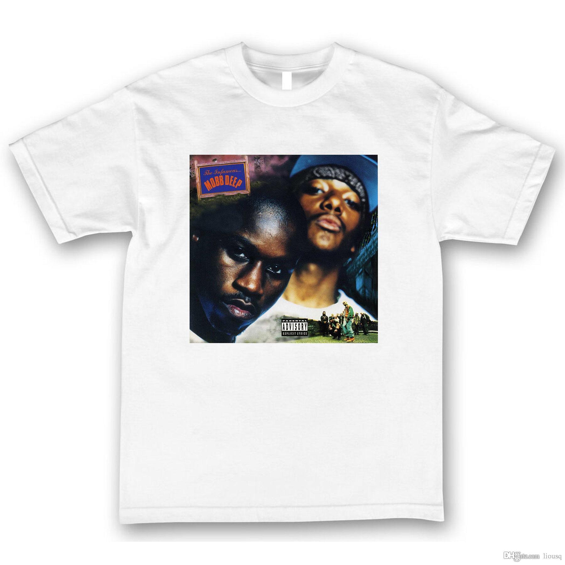 Mobb Deep The Infamous T Shirt Hip Hop Rap