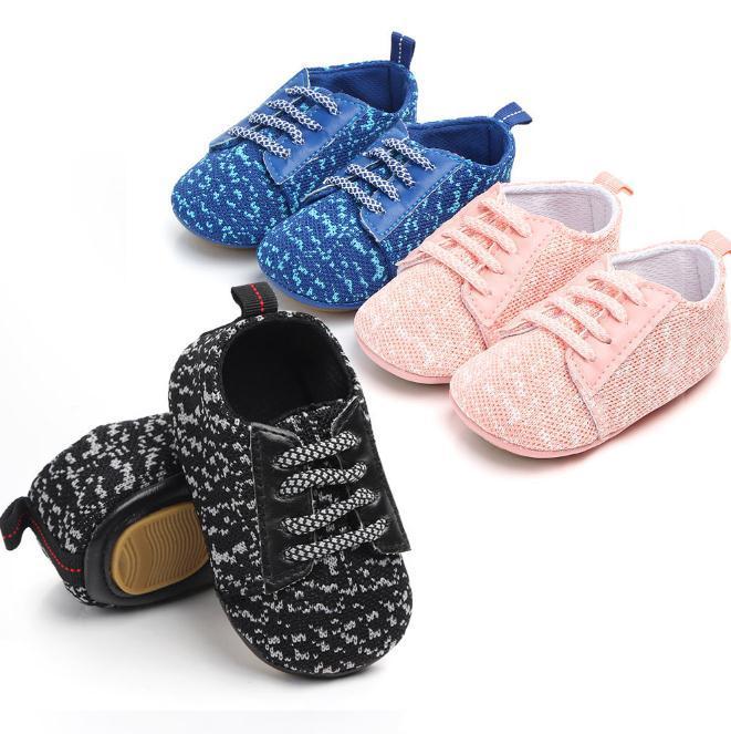 Kleinkind-Schuhe Neugeborenen Baby-weiche Sohle Krippe Schuhe Fashion erste Wanderer Schuhe Baby