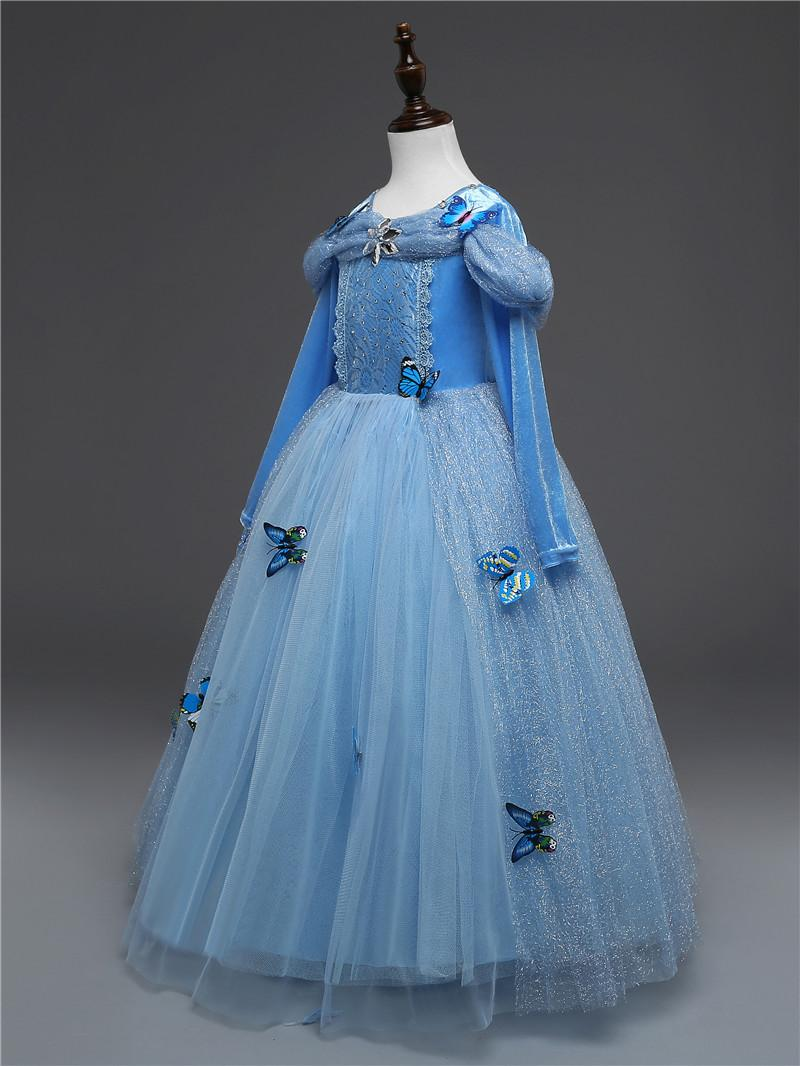 2018 Fantasy Cinderella Princess Dress Girl\'S Dresses For Baby Kids ...