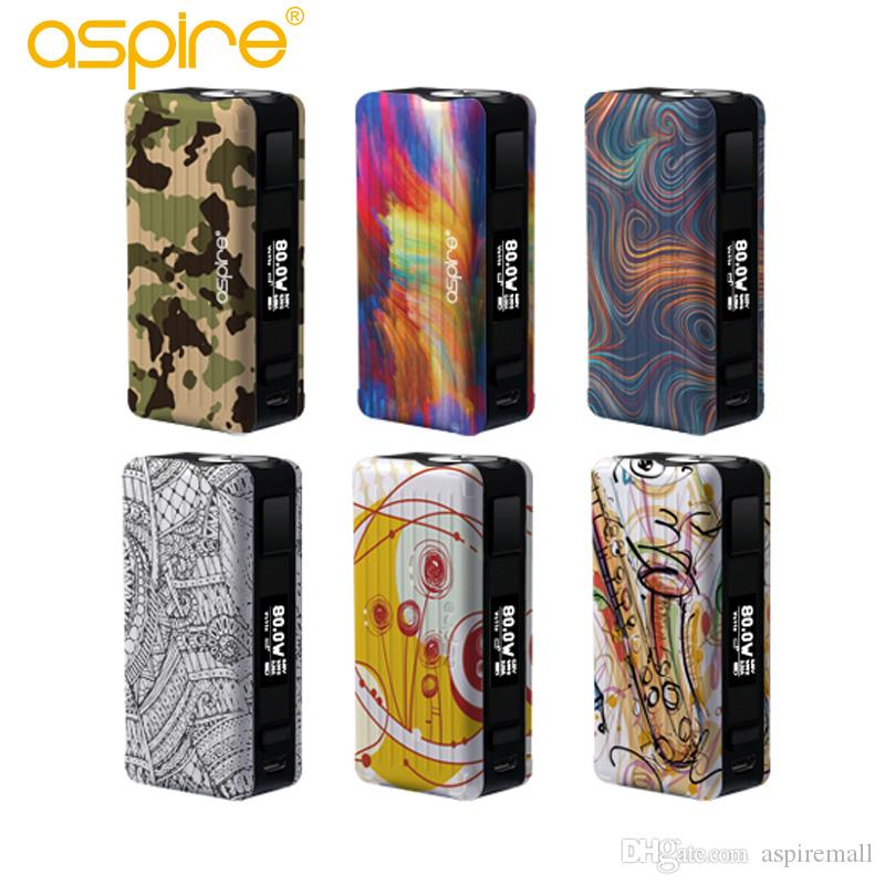 Wholesale - Original Aspire Puxos Mod Excluded 21700/20700 (100W) 18650 (80W) fit for aspire cleito pro sub ohm tank box mod vape kit