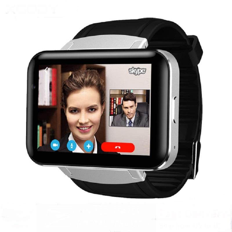 DM98 GPS 3G Smart Watch Android con SIM Card Pedometro Sports Tracker Smartwatch Telefono 900mAh Wifi BT4.0 Orologio da polso da uomo