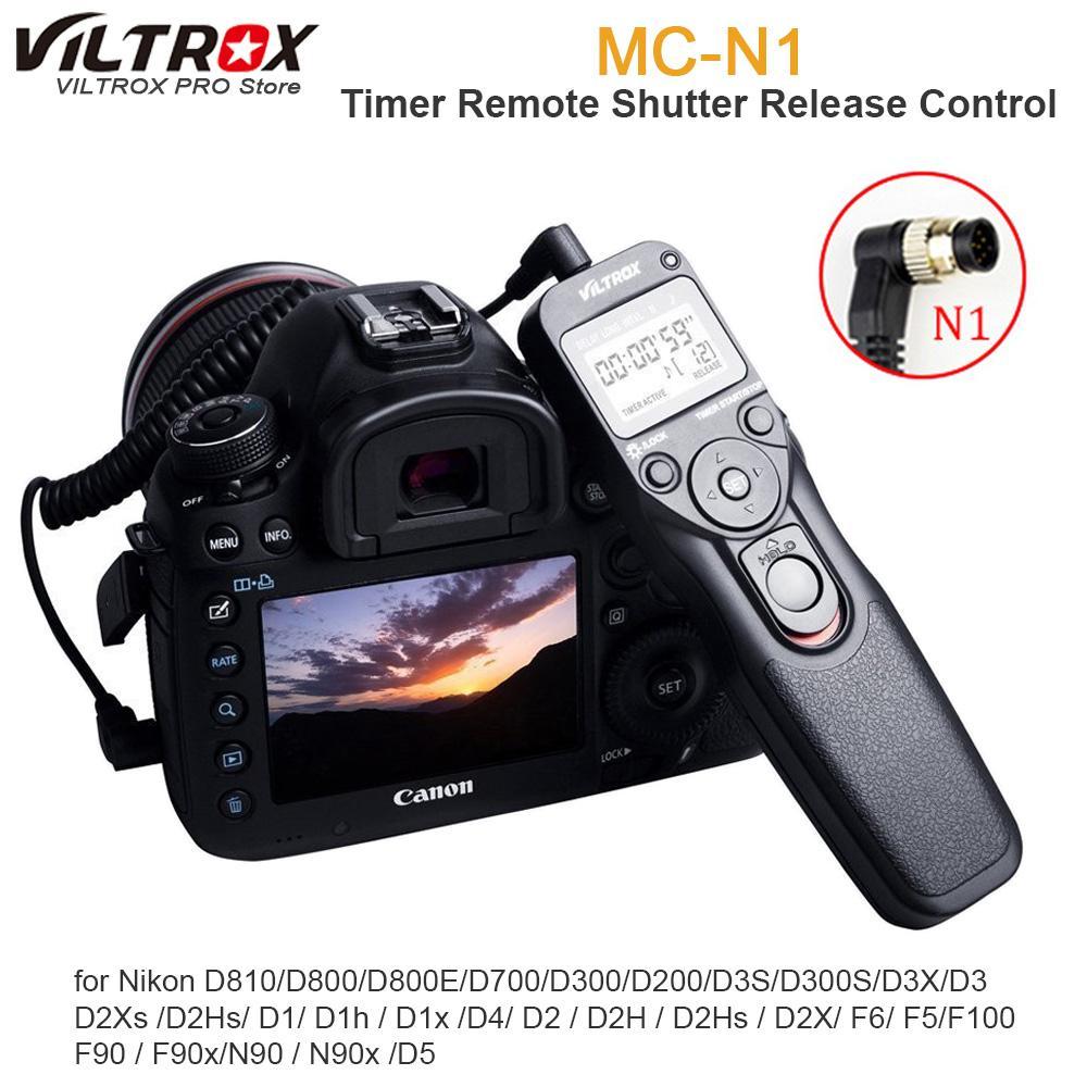 Control Remoto Temporizador interruptor del obturador para Cámara Nikon D700 D800 D810 D300 D3X D2
