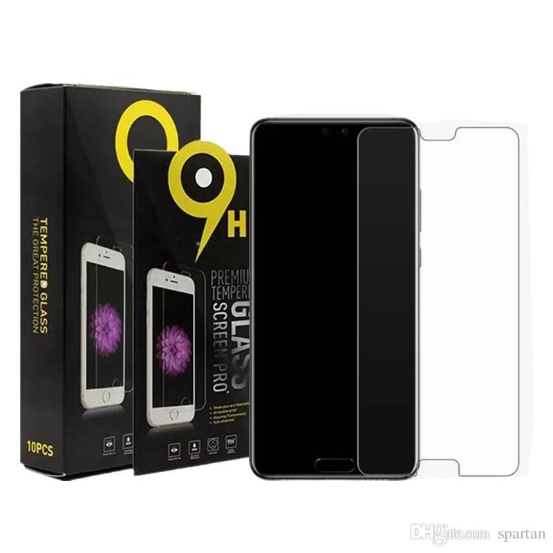 삼성 A12 A31 A21S A11 A51 A01 코어 A20 강화 유리 iPhone 11 스크린 프로텍터 Flim 0.33mm 2.5D 9H 흩어진 종이 패키지