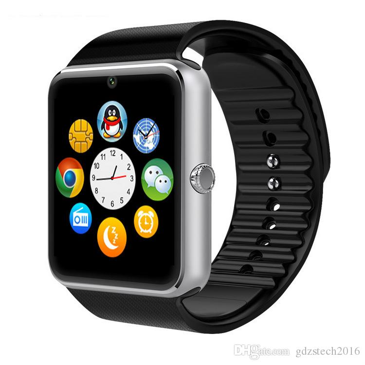 Hot selling GT08 Bluetooth Smart Watch Fashion Square Smartwatches Support SIM Card TF Card Facebook Music Player For Android Phones