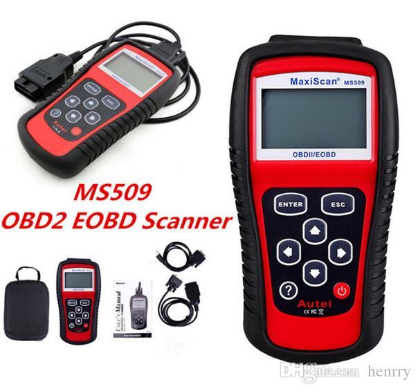 Autel MS509 MaxScan Code Reader OBD2 FT232BL OBD Scanner Motor Vehicle Detector Scanner Code Reader Autel MS 509 GS 509 GS509 Print
