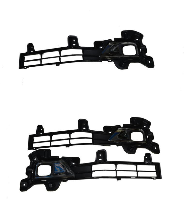 Carro Nevoeiro para a Toyota LAND Crusier 2015 frente Nevoeiro Bumper Lâmpadas Kit Chave de Fiação (um par)
