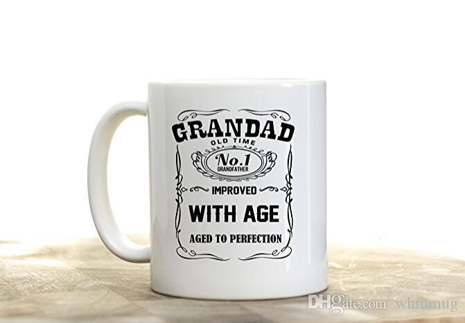 Funny Gift Grandpa Thermal World/'s Best Grandad Travel Mug Cup With Handle