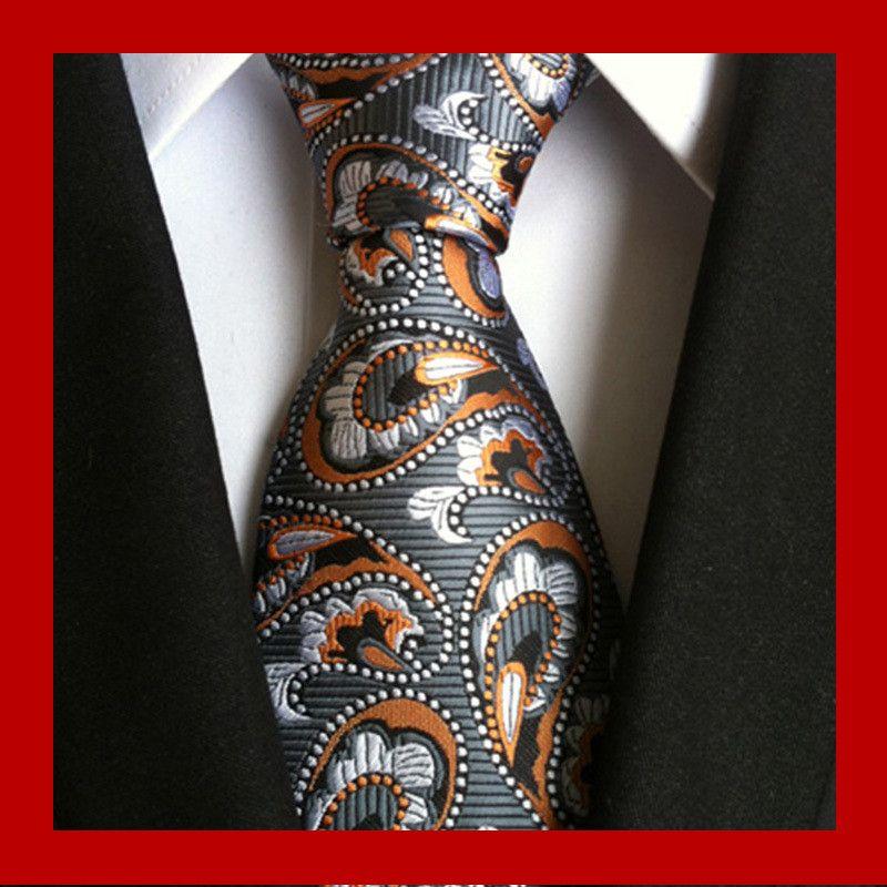 95 스타일 남자 실크 넥타이 패션 망 넥타이 수제 웨딩 넥타이 비즈니스 넥타이 영국 페이즐리 넥타이 줄무늬 도트 넥타이 넥타이