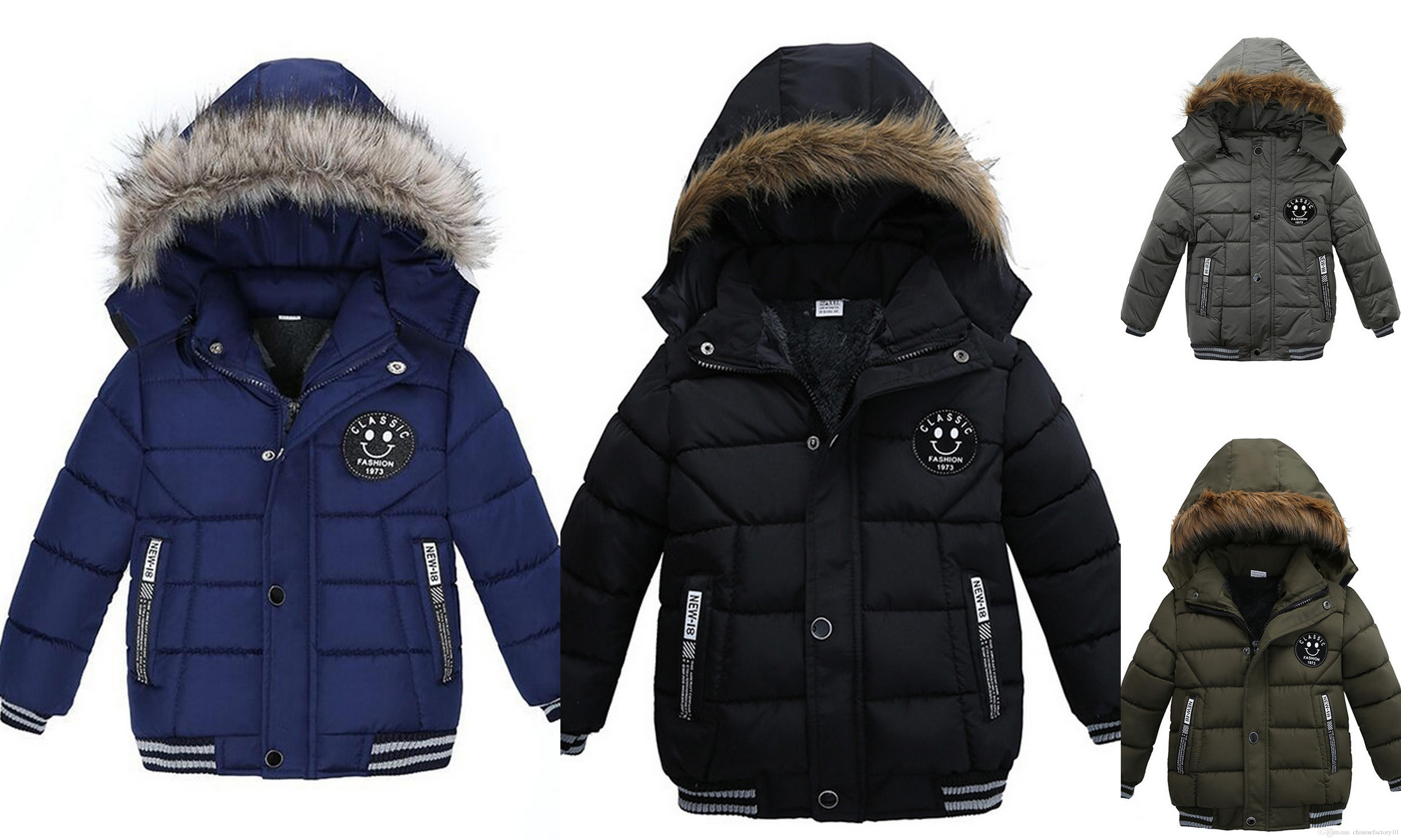special buy cheap price dirt cheap Boys Korean Thick Winter Cotton Padded Jacket Winter Warm Baby Boys  Clothing Outwear Coats Youth Boys Winter Jackets Lightweight Jackets For  Kids From ...