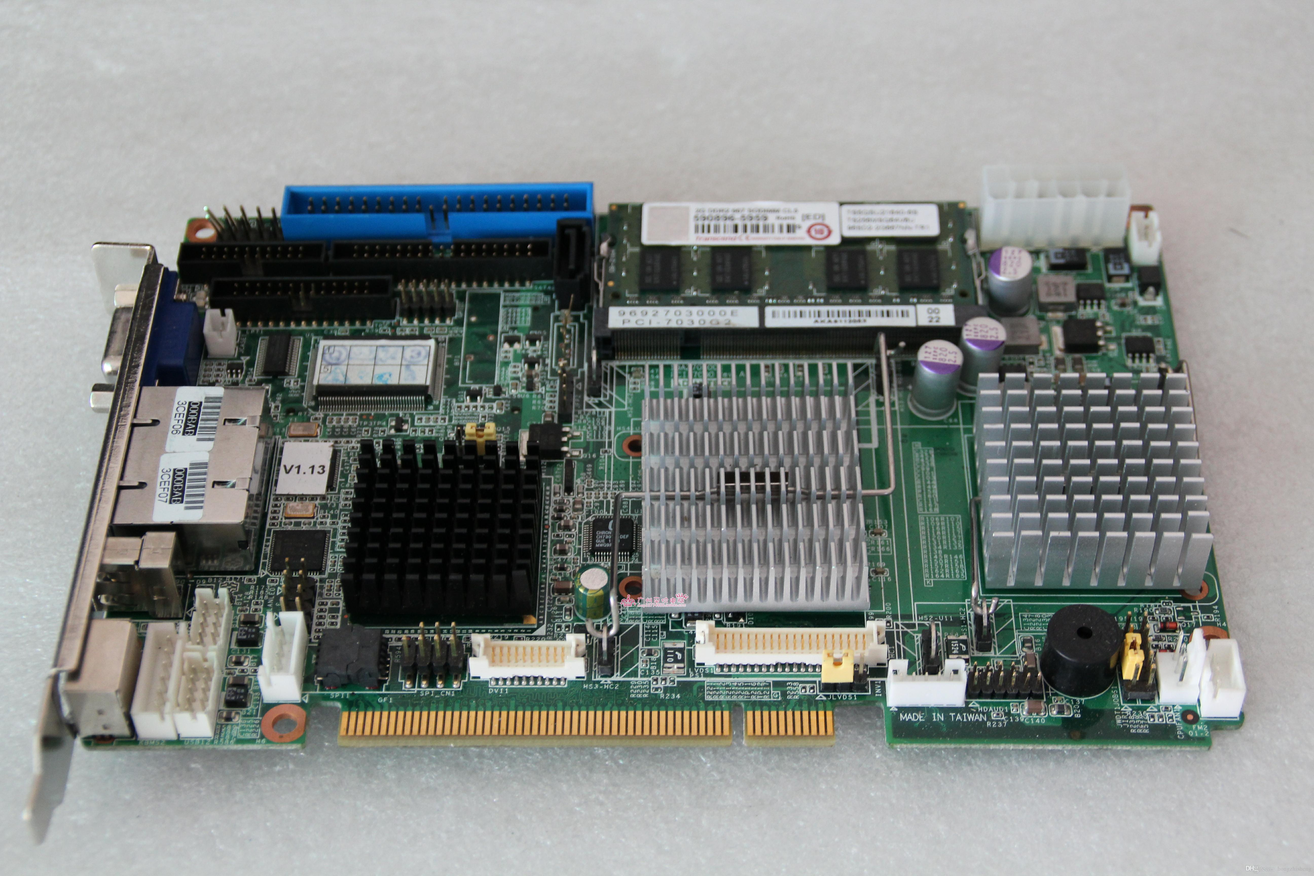 Оригинальная промышленная материнская плата PCI-7030 PCI-7030G2 будет тестироваться перед отправкой