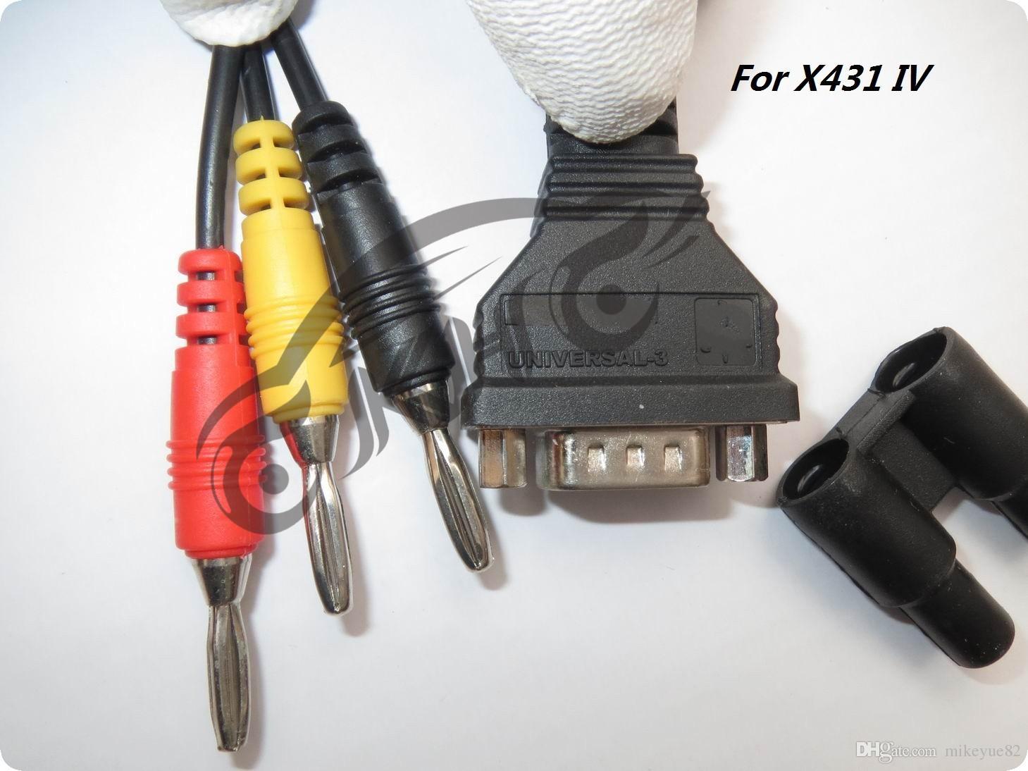 الأصلي لإطلاق X431 IV يونيفرسال -3 محول UNIVERSAL-3 موصل ل X431 4 الجيل الرابع محول OBD موصل