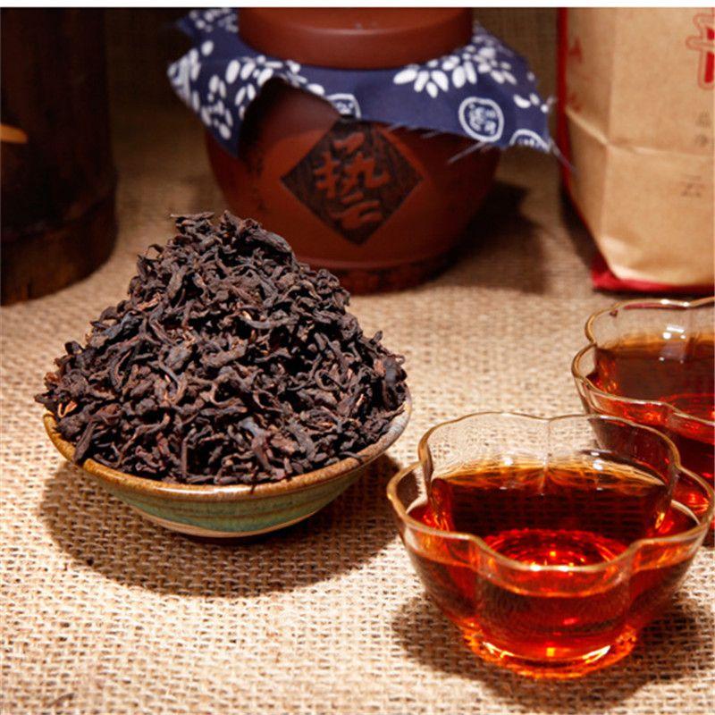 Продвижение 500г Спелая Пуэр чай Юньнань высшего сорта Classsic Сыпучие черный чай Pu'er Органические Природный Pu'er Старое дерево Приготовленный чай Pu'er Упаковка для подарков