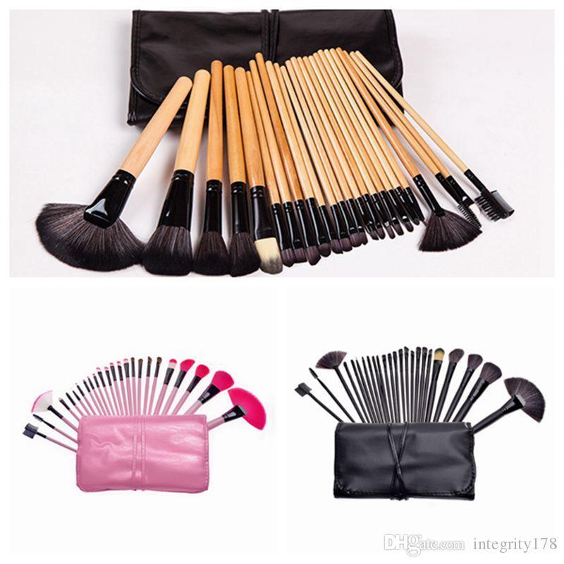 24pcs set Professional Makeup Brushes Set Face Eyes Soft Blending Full Function Makeup Artist Brush Beauty Tools Kit Top Quality