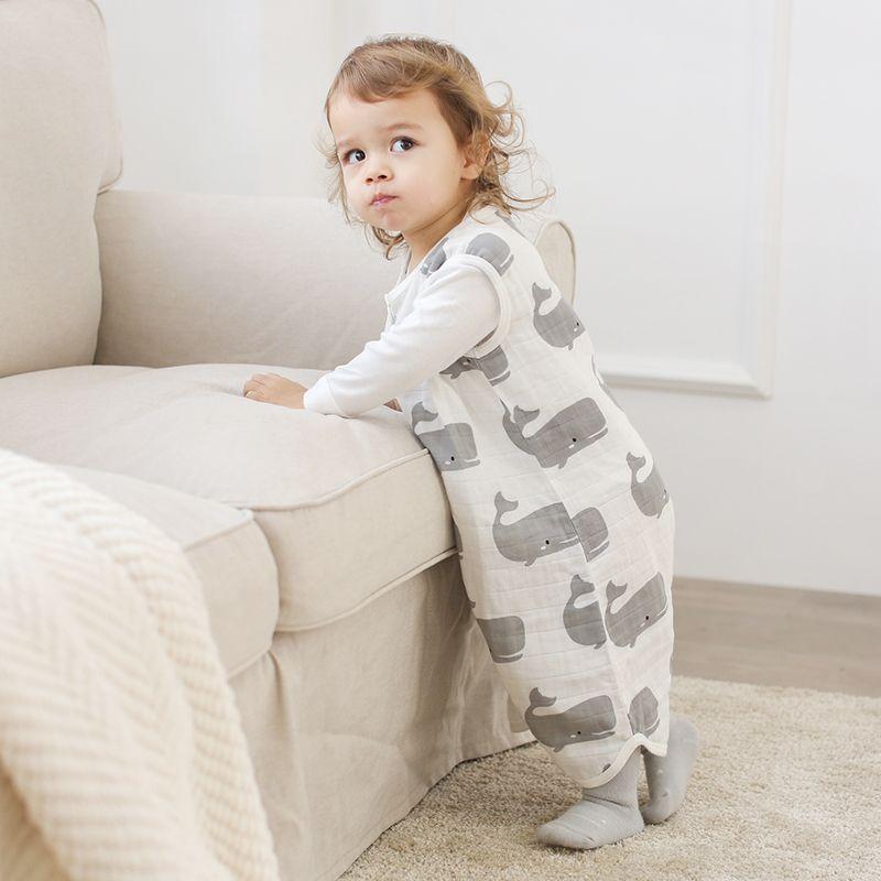 new concept 8b6ed 03171 Baby Sleeping Bag For Summer Soft Breathable Pure Cotton Muslin Sleep Sack  For Children Cute Animal Pattern Sleepsack Kids Sleeping Bags Sales Coleman  ...