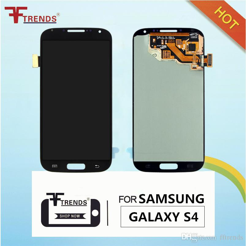 100% Original LCD for Samsung Galaxy S4 i9500 i9505 M919 L720 i545 R970 i337 LCD Touch Screen & Digitizer Assembly Replacement Repair Parts