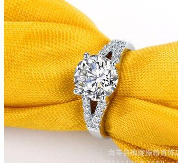 Натуральный Рубикристалл белый цвет бриллиантовое кольцо размер 6 -- 10 (5.5) dgrte