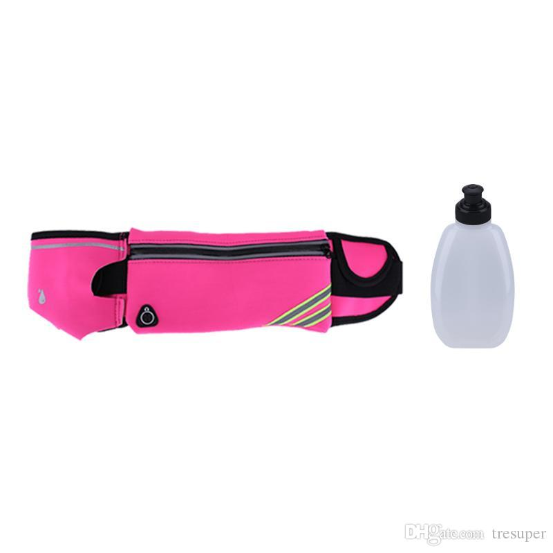 Outdoor Sports Pockets Diving Material Waterproof Multi - Purpose Unisex Water Bottle Pockets + a Kettle Position