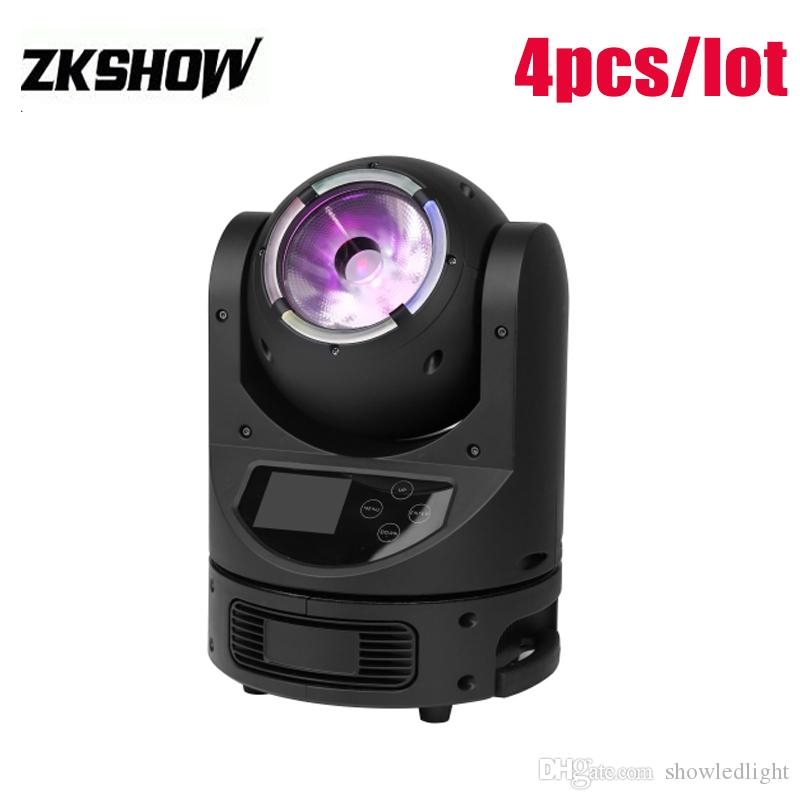 80% Discount Sales 60W RGBW LED Beam Moving Head Mini Magic Dot DMX512 DJ Disco Party Wedding Club Show Stage Effect Lightings Free Shipping