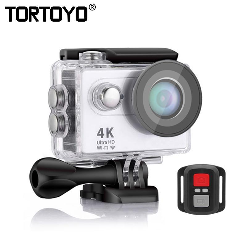 """S9R المهنية الرياضة في الهواء الطلق عمل الكاميرا WIFI 1080P HD 2.0 """"شاشة للماء الغوص ركوب الدراجات تسجيل فيديو كاميرا الفيديو DV"""