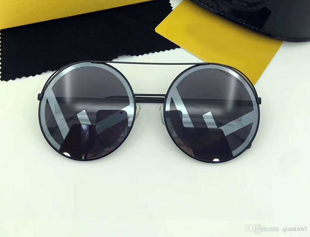 Exécution de 0285 / S Eyewear 0285 Boîte Lunettes de soleil Black / Grey Lunettes de soleil dans les lunettes de conduite Mode Nouvel été Été Rond VGFRC