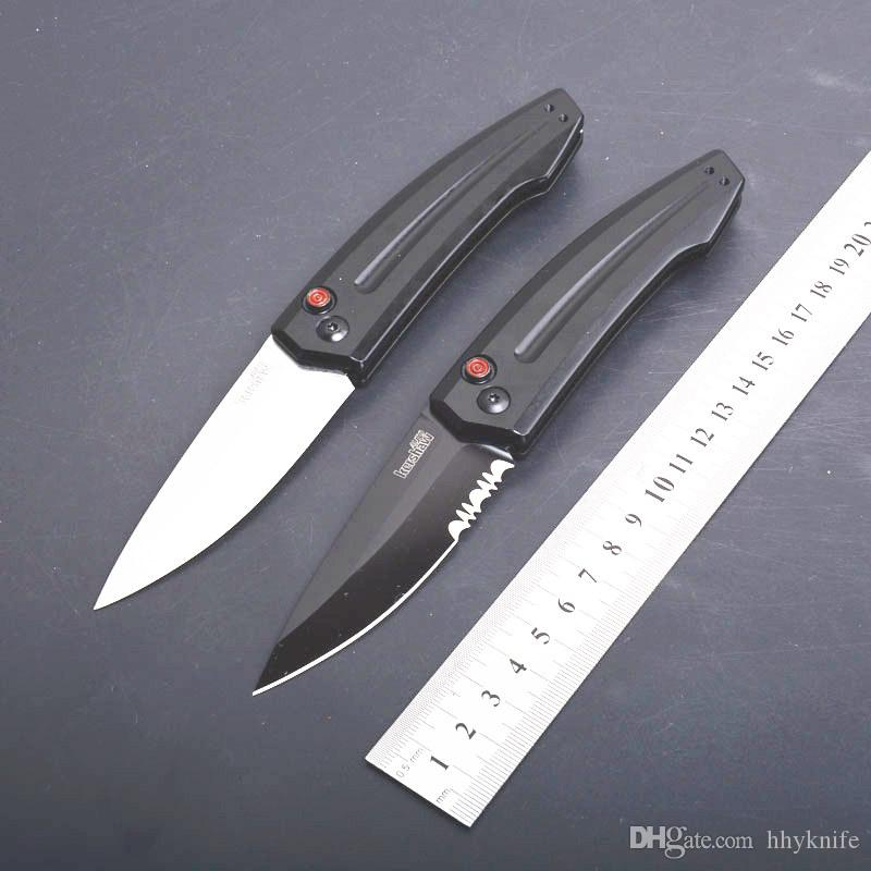 Special Offer Kershaw 7200 Auto Tactical Knife 8Cr13Mov Single Edge Drop Point Blade T6061 Aluminum Handle With Retail Box Package