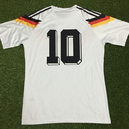 أليمانيا 1990 لكرة القدم جيرسي الرجعية خمر الكلاسيكية ماتيوس فولر KLINGSMANN camisetas فوتبول camisa futebol مايوه دي القدم