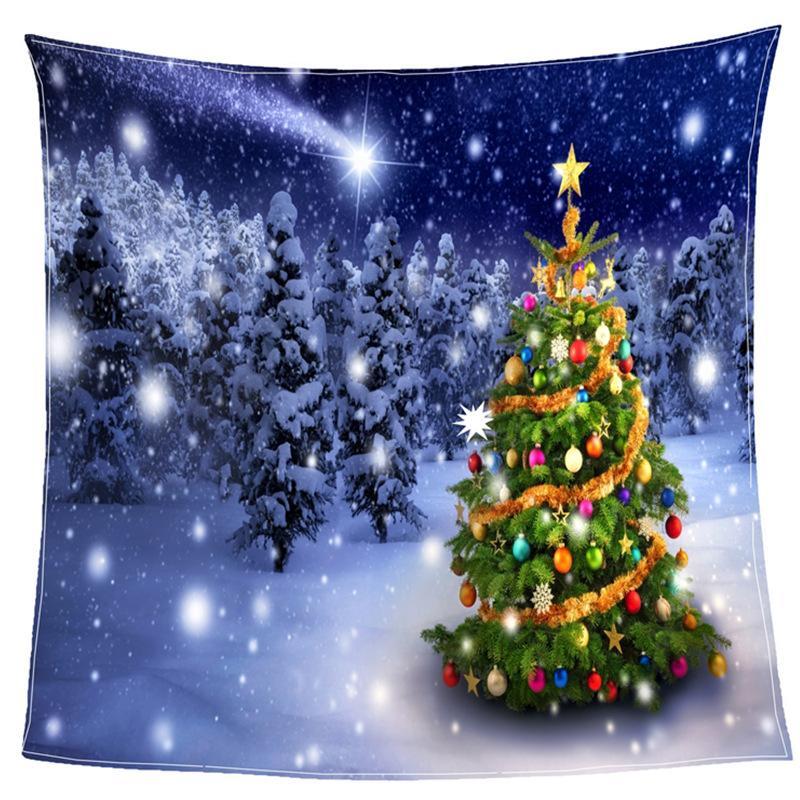 Dijital Baskı Noel Atmak Battaniye Battaniye Manta Mercan Flanel Battaniye Kanepe / Kanepe Yatak / Düzlem Seyahat Ekoseler TV