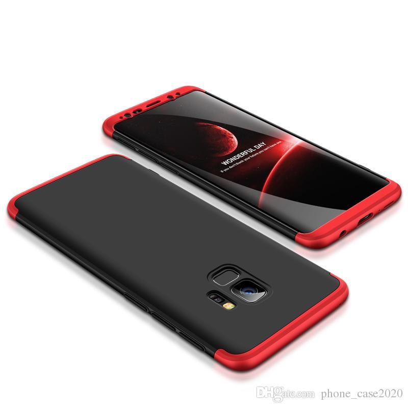 Slim 3in1 Hybrid Bumper Hard Case For Samsung Galaxy S9 S20 Ultra Note 10 Plus S10 Plus S8 Note9 A70 A50 A20 A71