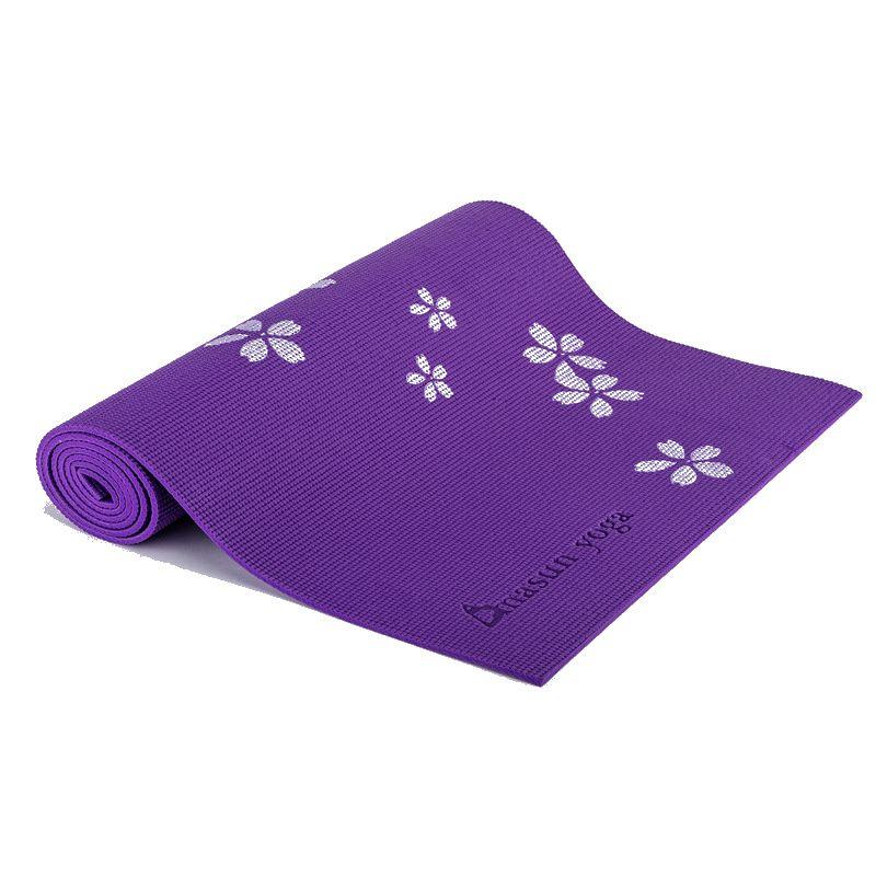 Autêntico de alta densidade NBR 10 MM PVC Impresso Tapete de Yoga Não-slip Engrossar Espuma Fitness Exercício Mat Para Iniciante