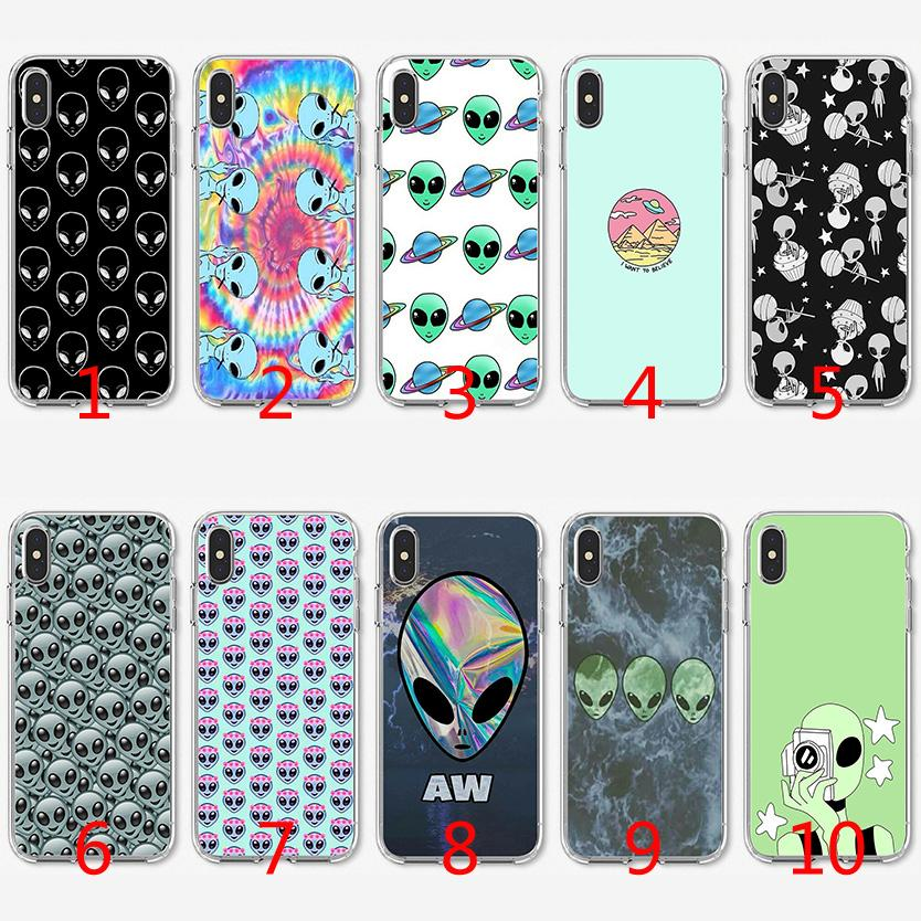 iPhone 6 plus alien silicone cover