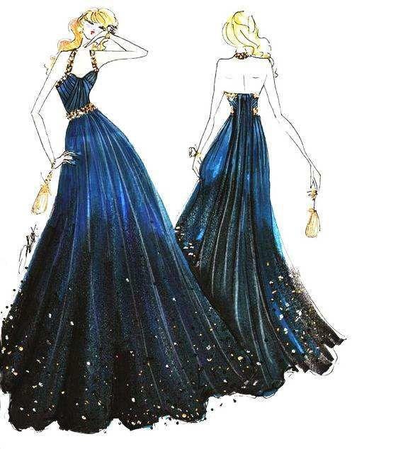 lunghezza del pavimento stile fata cristallo A-line bling abiti da sposa 2018 semplice nuovo design corsetto sexy halter in rilievo abiti da sposa blu e nero